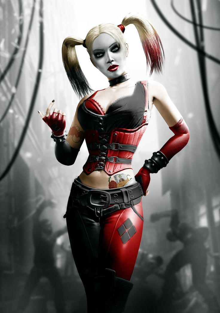 Join. batman harley quinn speaking