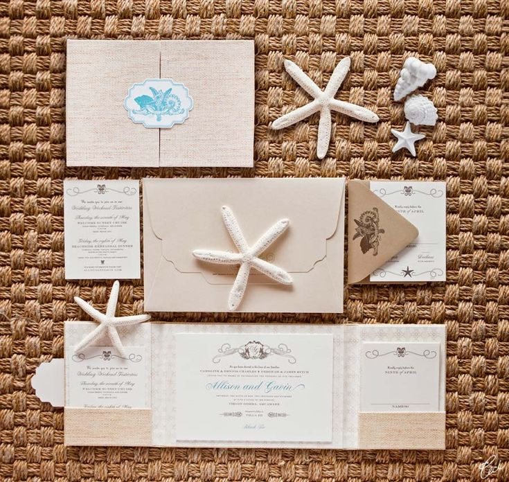 Our Muse - Wedding Invitations - Be inspired by Allison & Gavin's elegant Caribbean wedding at Villa Aquamare, Virgin Gorda, Virgin Islands - die cutting, invitations, labels, letterpress printing, signs, wedding