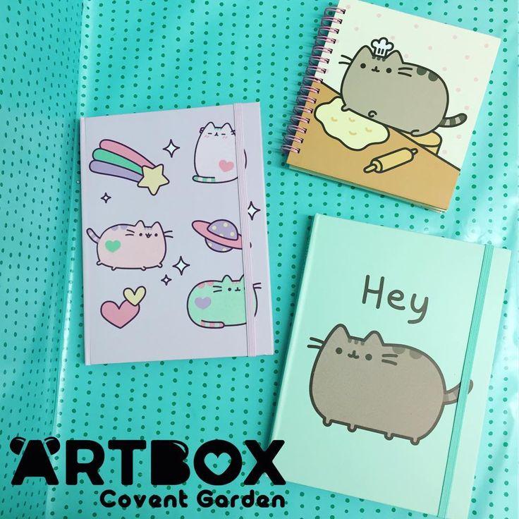 New super cute Pusheen notebooks have just arrived in store!   #artboxuk #kawaii #pusheen #pusheencat #pusheens #pusheenthecat #pusheenplush #cute #catplush #kitty #cat #fatcat #stormy
