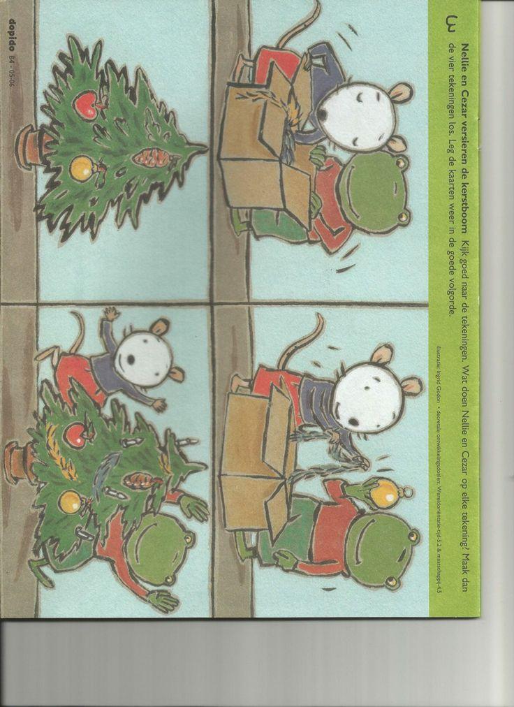 Kerstboom versieren - dopido