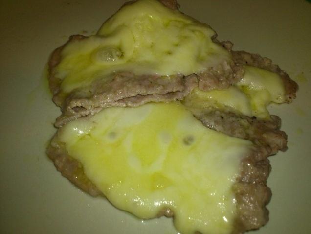 Carne con formaggio pronta in 10 minuti