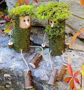 16 superschöne Dekorationsstücke aus Holz, mit denen Sie Ihr Haus aufheitern können! - DIY Bastelideen