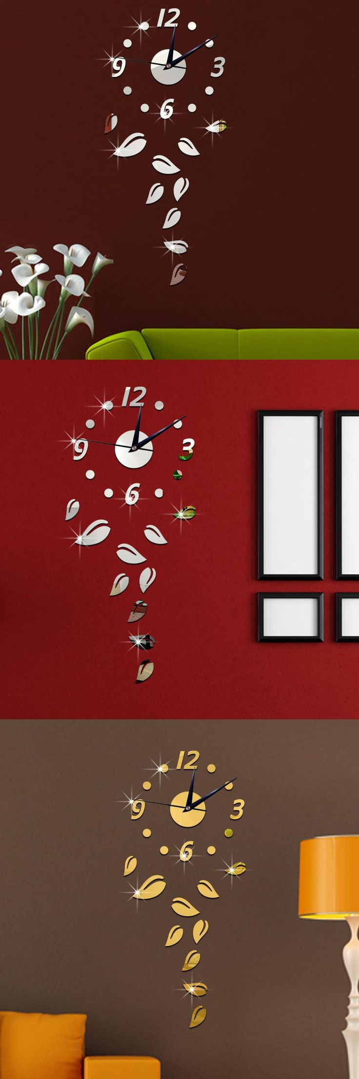 Best 25 mirror wall clock ideas on pinterest wall clocks s wall clock fashion creative clock clock and mirror wall clock personality beautiful and nice amipublicfo Image collections