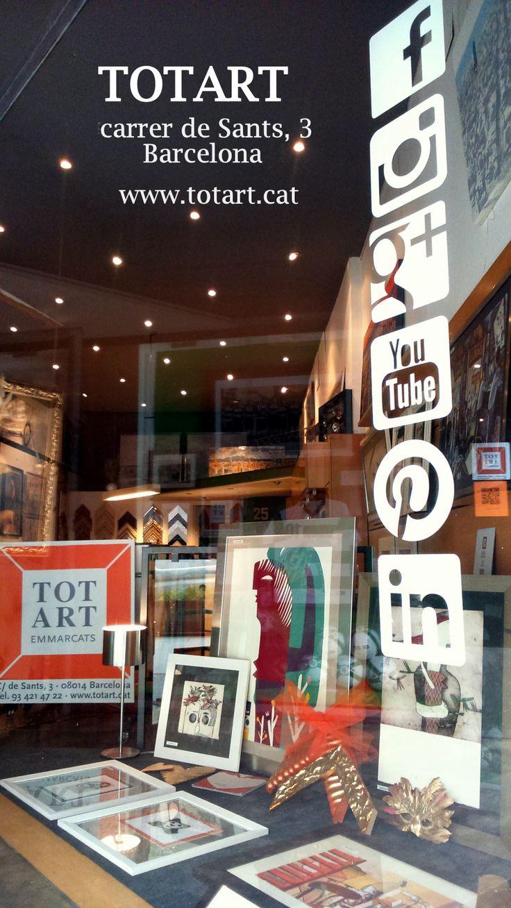 Mejores 75 imágenes de Tienda enmarcación TOTART Barcelona en ...