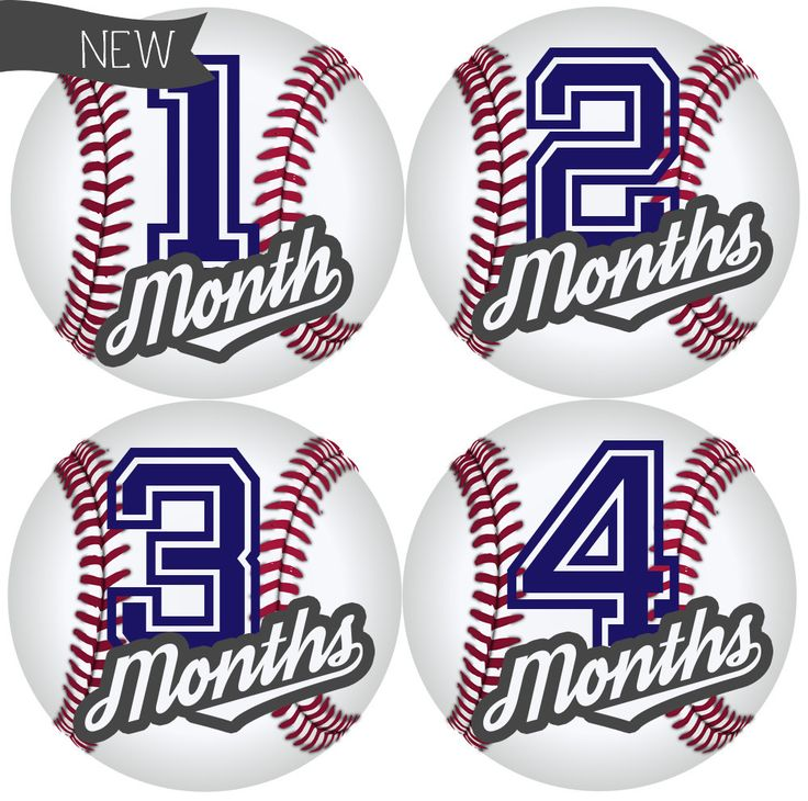 Take Me Out To The Ball Game Baby Belly Stickers