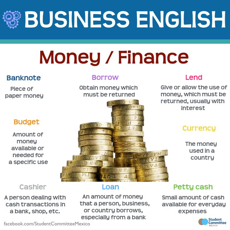 Money / Finance, BUSINESS ENGLISH