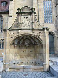Siebenröhrenbrunnen, Heilbronn, Germany