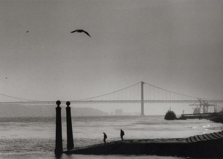 Eduardo Gageiro -Cais das Colunas, Lisboa, 1973