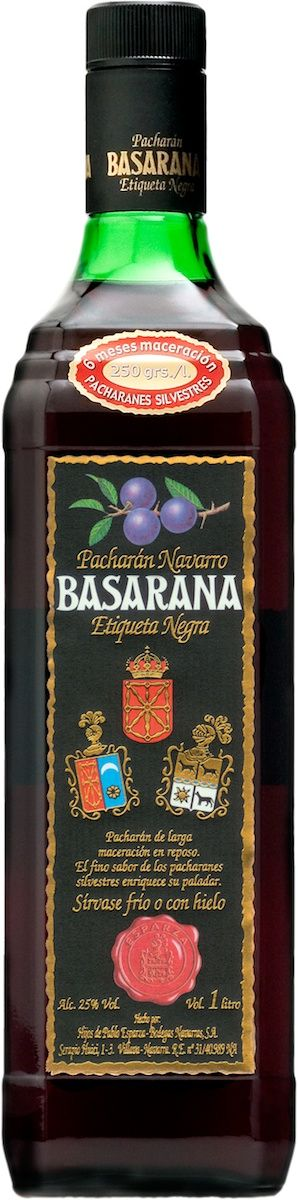 Pacharan, or Patxaran, is a traditional liqueur from the Basque Country, Navarra and Pyrenees that has been produced and drunk for centuries and is now popular throughout Spain. The distinct flavour is produced by soaking sloe berries, a few coffee beans and vanilla in distilled anis.  The result is rich red liqueur characterised by a fruity, aniseed flabour.