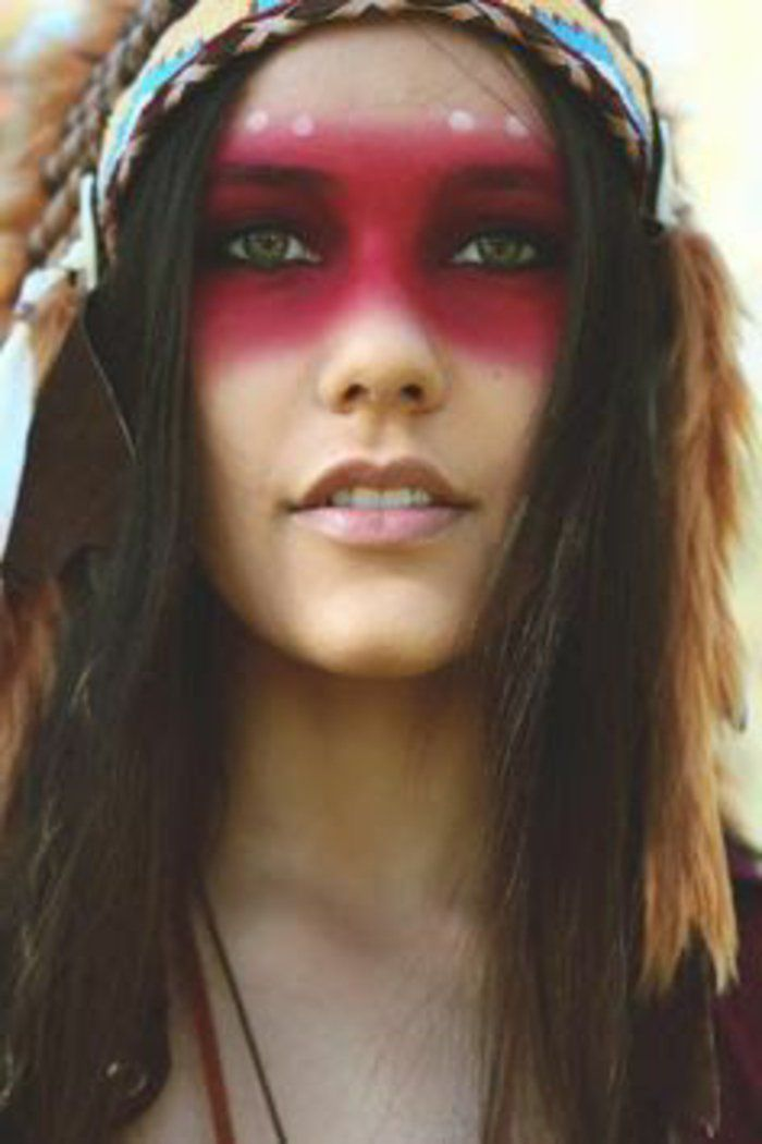 Maquillage indienne amazing with maquillage indienne best makeup indien avec bys maquillage - Maquillage indienne d amerique ...