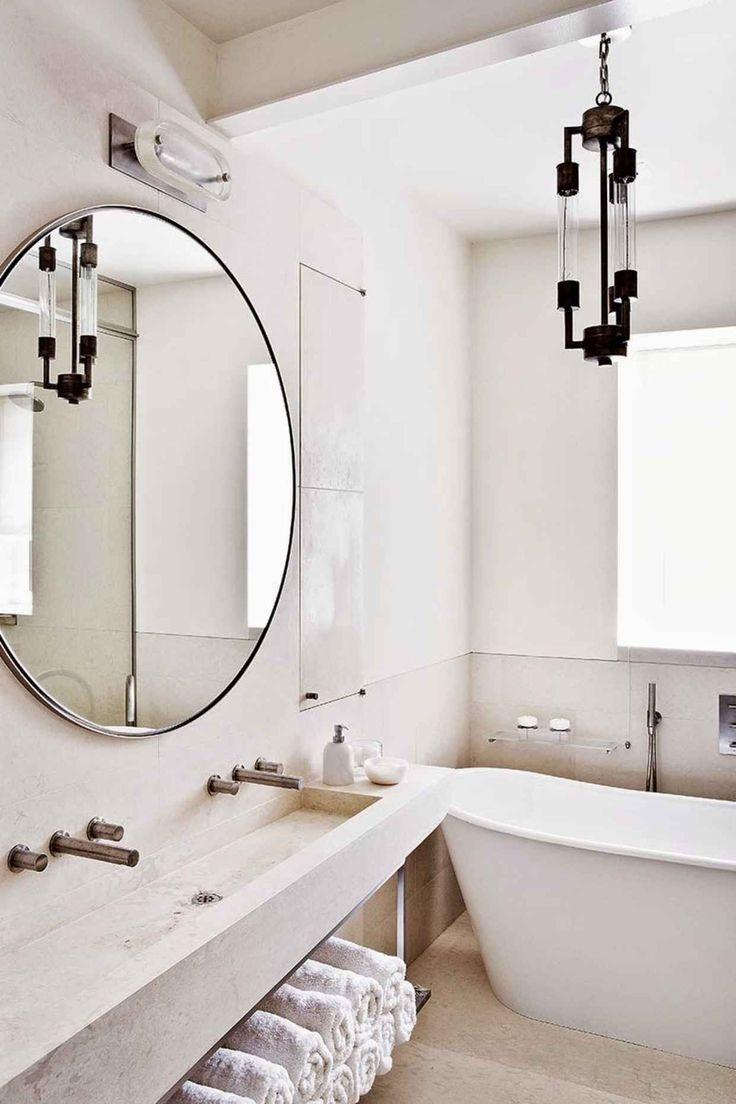 Luxury Large Mirror In Bathroom