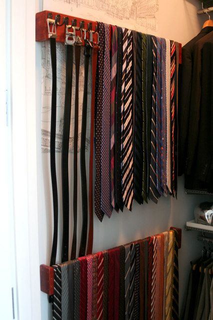 When I have my dream walk in closet, we're putting these bad boys in to organize my husbands hundreds of ties.