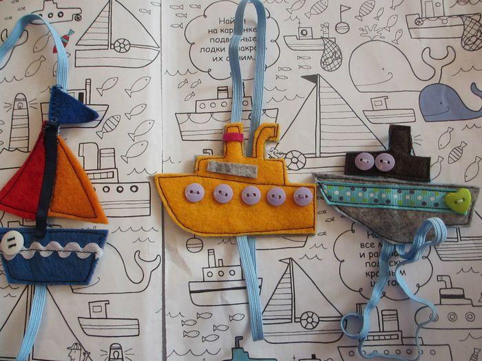 Закладки для книги своими руками из фетра