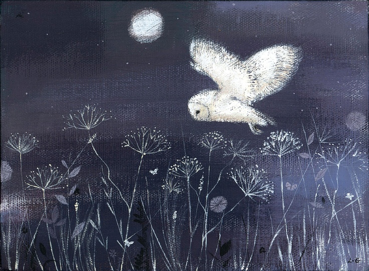 'Barn Owl' by Lucy Grossmith