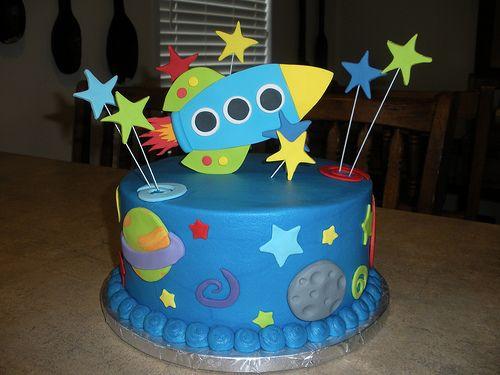Space Rocket Cake