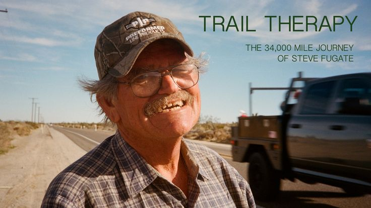Trail Therapy, A Short Film About Steve Fugate's 34,000-Mile Walk for Depression Awareness