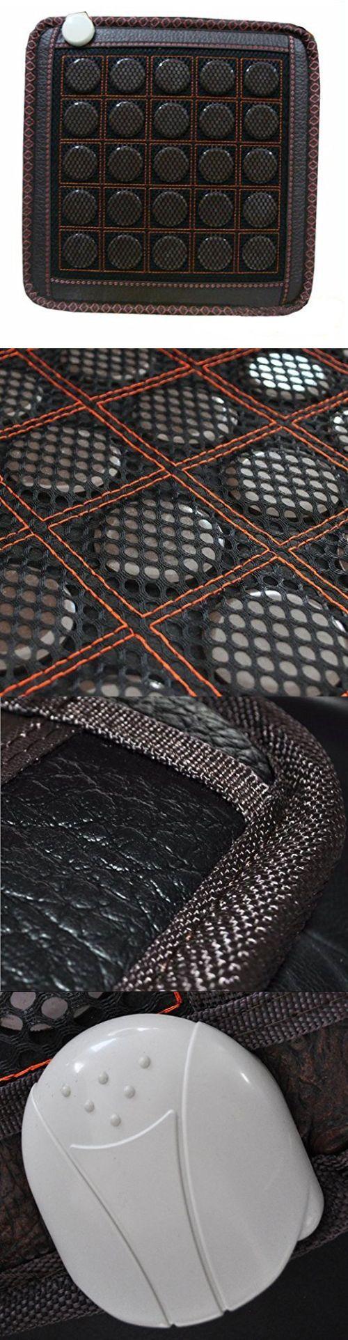 Electric Heating Pads: Far-Infrared Heat Therapy Healing Jade Mat Pad  Mattress Cool Mat