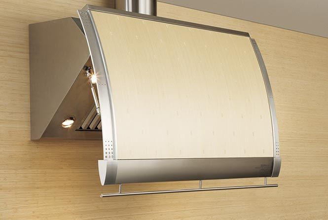 @Zephyr  Shade wall range hood designed by Fu-Tung Cheng #kitchen design #DiscoverZephyr