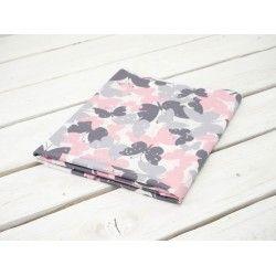 MOTYLKI RÓŻOWE - dzianina na stroje kąpielowe 240g #nowość#materiał #dresówka#dzianina#new#fabric#sweatshirt#materials#shop#dresowkapl