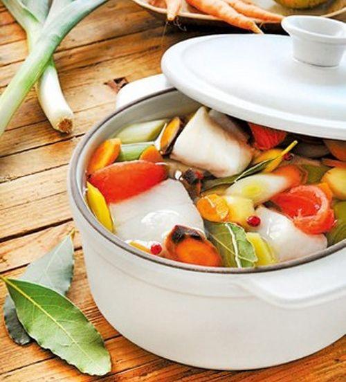フランス・アルザス製土鍋・ココット24cm(オーブン、電子レンジ対応)