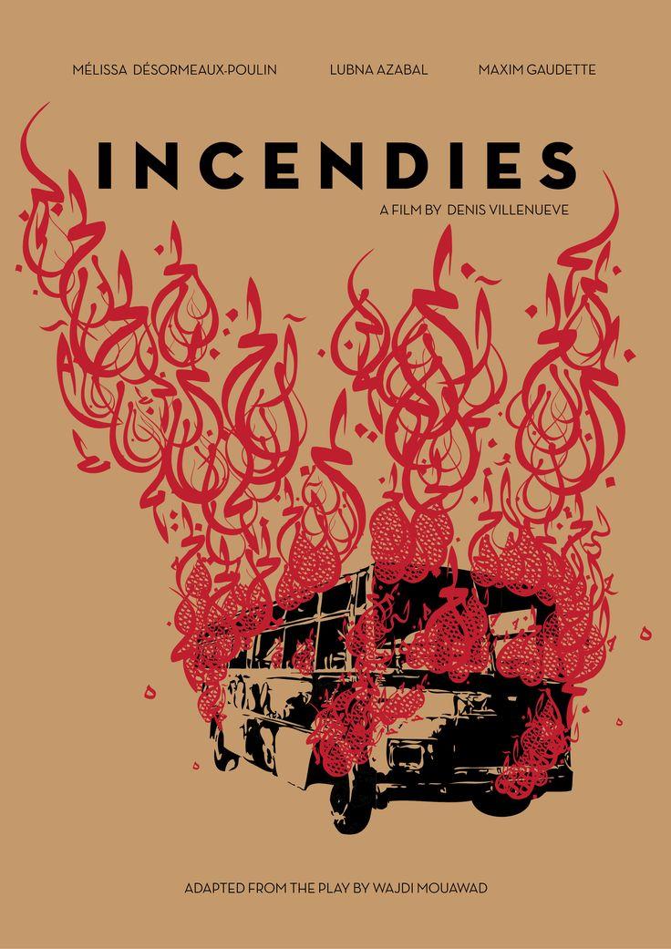 movie poster INCENDIES (2010) by Leila Sefta 2013