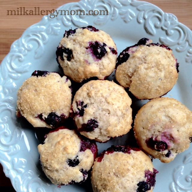 Basic Muffin Recipe That Is Milk Free Egg