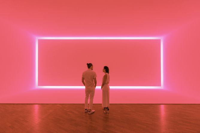 Raemar Pink White, James Turrell, 1969