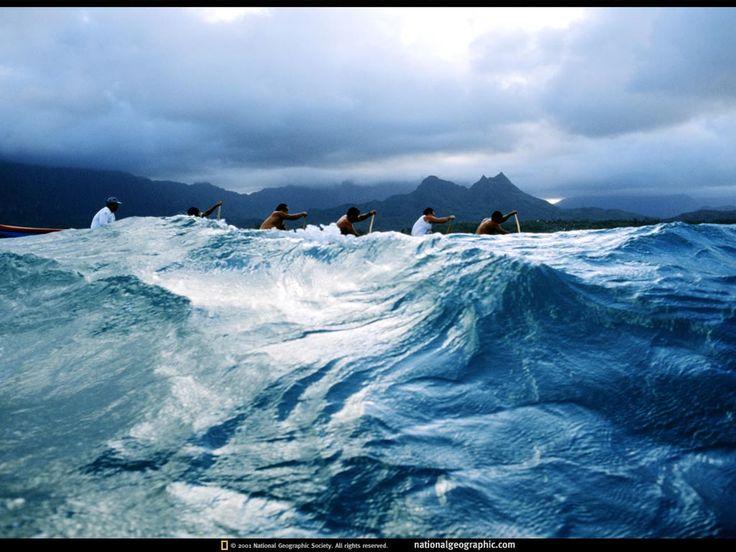paddling...Hawaii....Boat Racing, Waimanalo, Hawaii, 2000