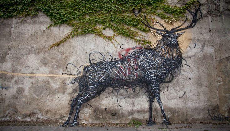 Vienna-street-art Искусство на улицах: венский стрит-арт Вандализм или искусство? Таким вопросом задаются многие, сталкиваясь со стрит-артом. Долгое время ультраклассическая австрийская столица отвечала на него однозначно: вандализм. Но теперь ситуация меняется, и Вена постепенно начинает догонять Лондон и Берлин, для которых граффити давно стали привычной частью культурного пространства.