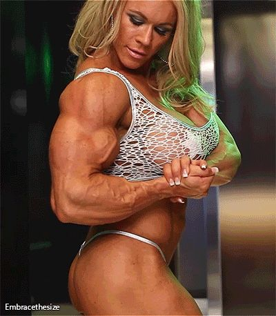 young muscle girls biceps