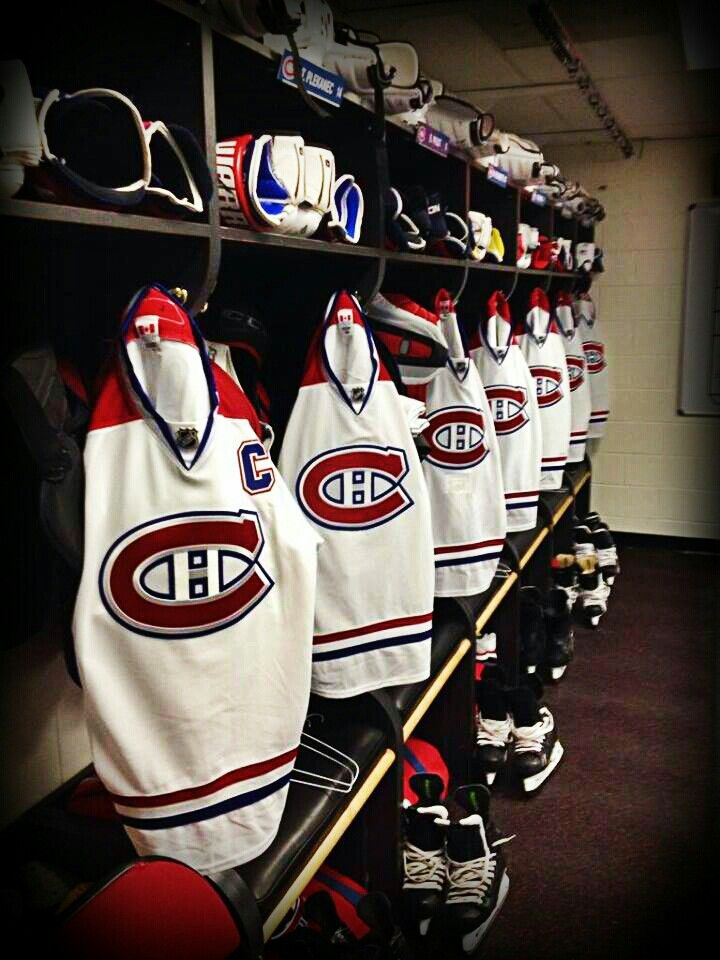 Habs away sweaters