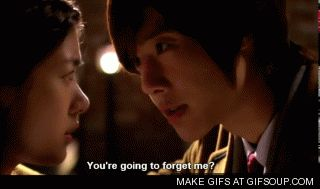 Playful kiss. Kim Hyun Joong as Baek Seung Jo and Jung So Min as Oh Ha Ni. It makes me so mad that he is such a teasing jerk!!...but I love him so much
