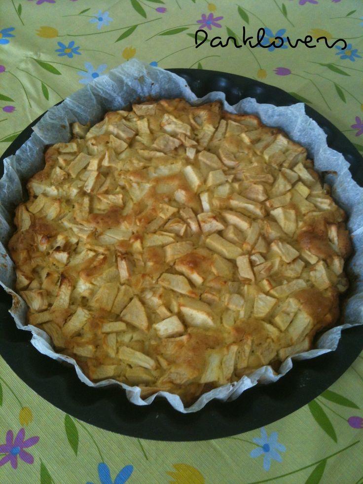 Torta di mele con farina di riso ( senza burro )