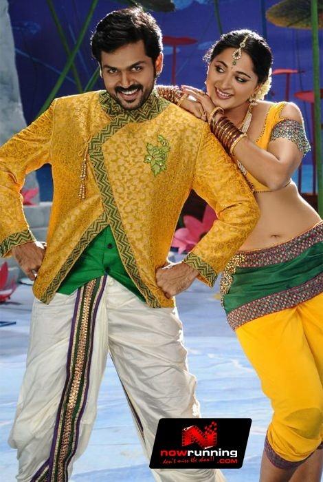 Karthi & Anushka in Alex Pandian