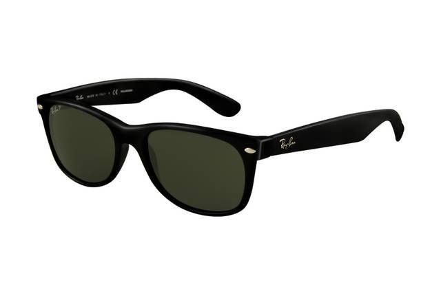 #rb #rayban You Can See High Quality Of Ray Ban Wayfarer RB2132 Sunglasses Black Frame Crystal Green Polarized Lens ALD And Welcome Come To Buy One!