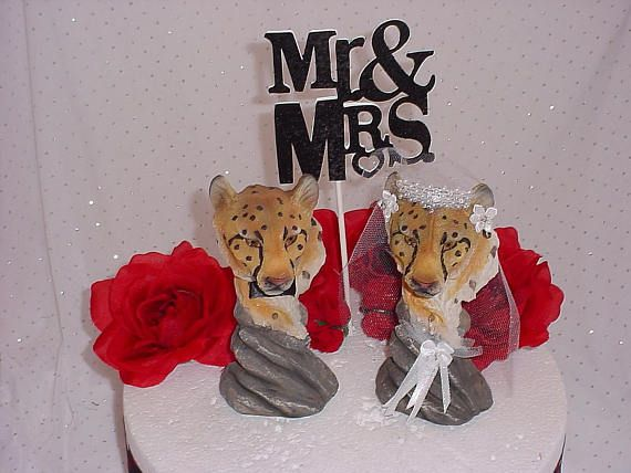 Field Hockey Wedding Cake Toppers