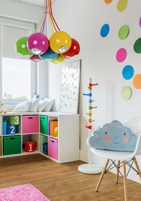 Kolorowa lampa do pokoju dziecięcego - Malwi, producenta Nowodvorski.
