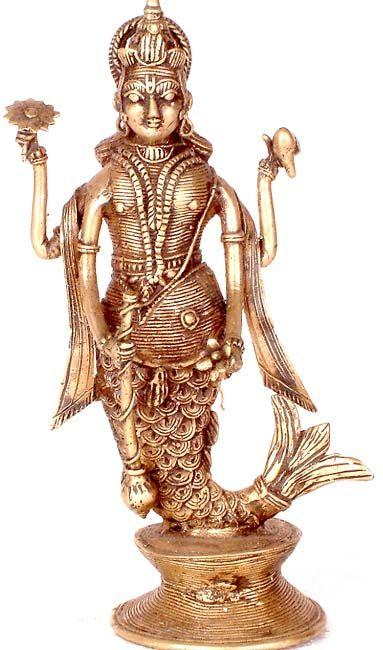 Matsya: The Fish Avatar of Lord VishnuMatsya Fish, Inde Merfolk101, Vishnu Sources, Hindu Mermaid, Mermaid Sirena, Fish Avatar, Lord Vishnu