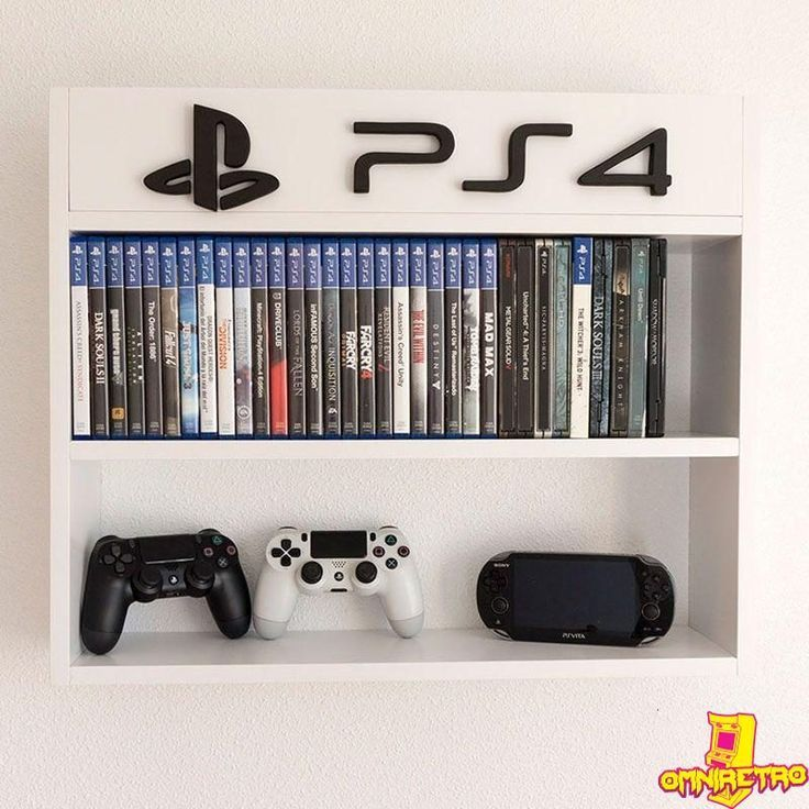 Playstation 4 1tb Console Game Room Decor Video Game Rooms