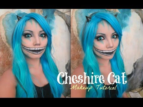 This is my 2nd channel so please 'SUBSCRIBE' !!! Cheshire Cat look is popular request so I made sure that I film it for this year Halloween. This is more of ...