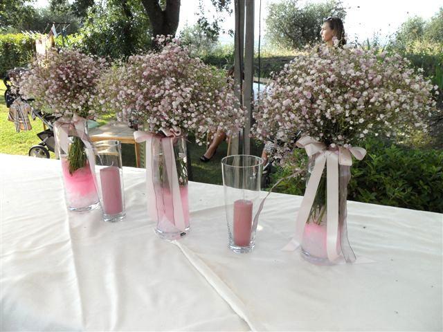 PINK WEDDING IN TUSCANY! Un Matrimonio Rosa pastello nella Campagna toscana!!!  La cerimonia è stata seguita da un aperitivo e antipasto a buffet a bordo piscina. Il tavolo del buffet è stato decorato con vasi di vetro alti con mazzi di gipsofila rosa tenue e candele. Fiori, rosa e candele hanno fatto da protagonista in questo magico giorno! https://www.facebook.com/pages/DivAmica/437498252999809