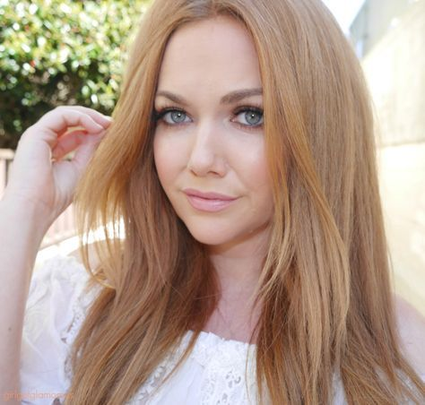 How To Strawberry Blonde Hair At Home | GirlGetGlamorous | Extensions for Redheads