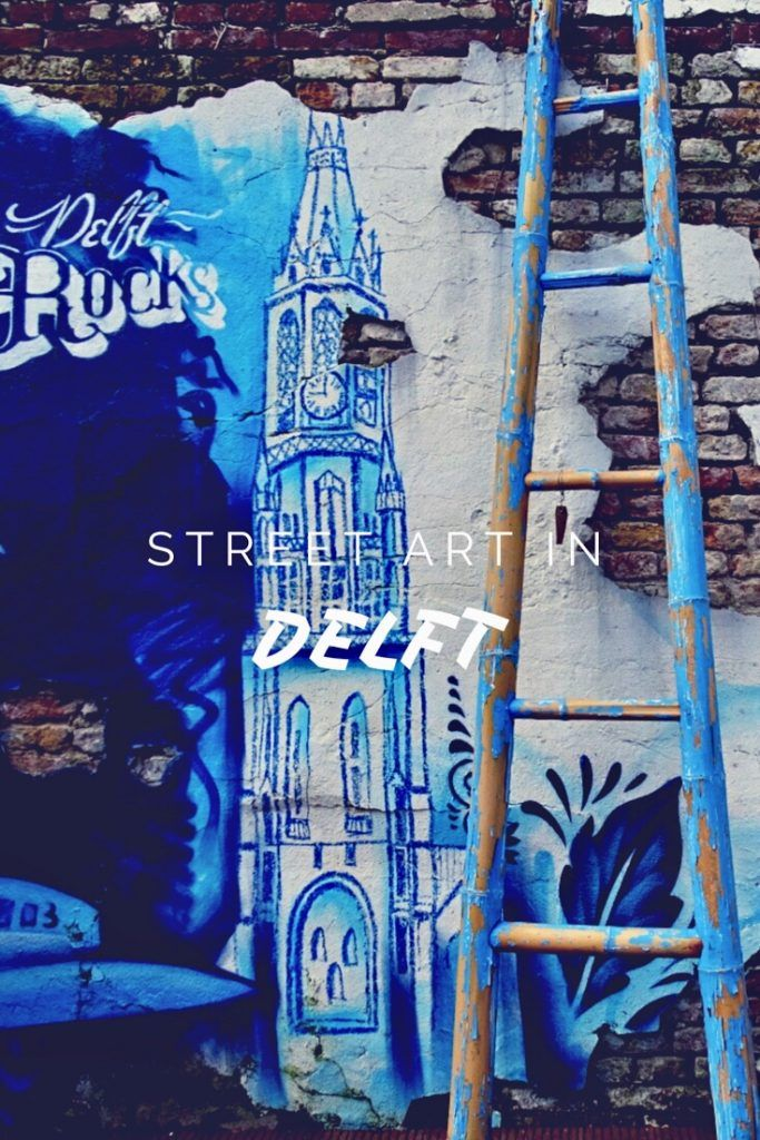 street art in Delft - Worldwife #streetart #delft