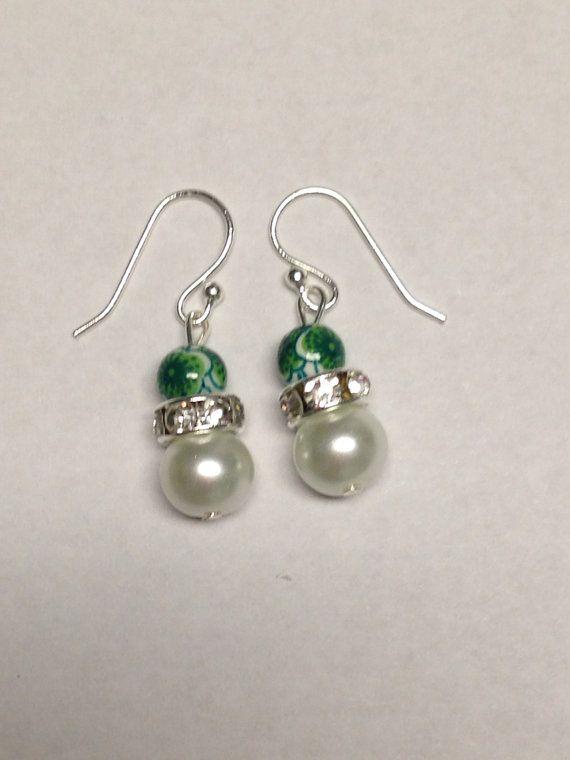 dangle pearl earrings by daydreamingdecor on etsy 10 00