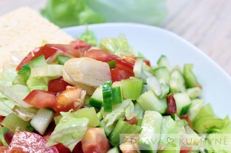 Pikantní olomoucký salát