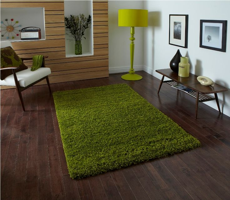 Delightful Hampen, IKEA Green Rug
