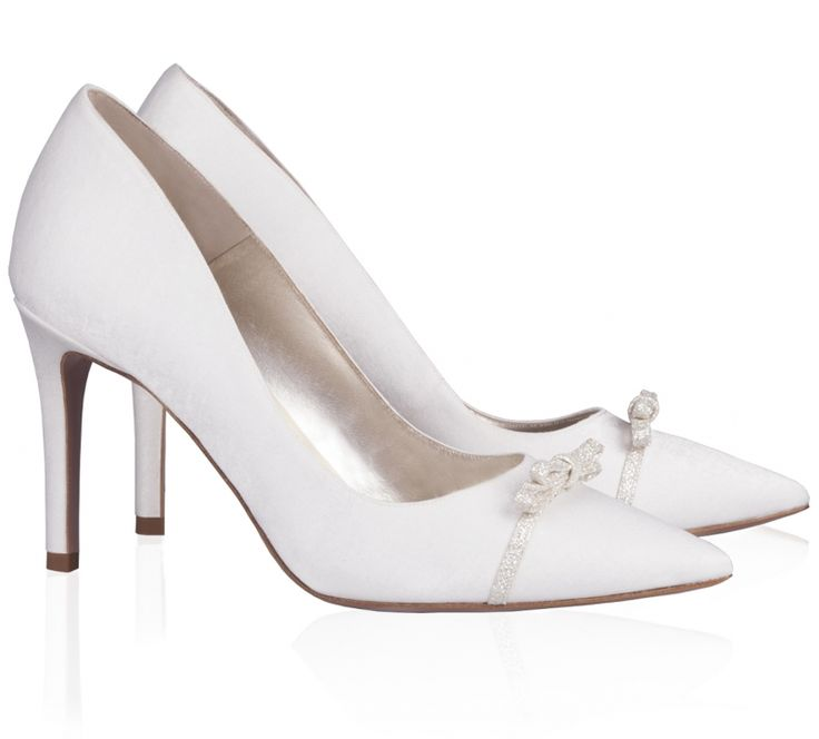 Lua, Chaussures à talons - Avant du pieds couvert femme - Blanc - Elfenbein (Ivory 04), 40 EU (6.5 Damen UK) EUMenbur