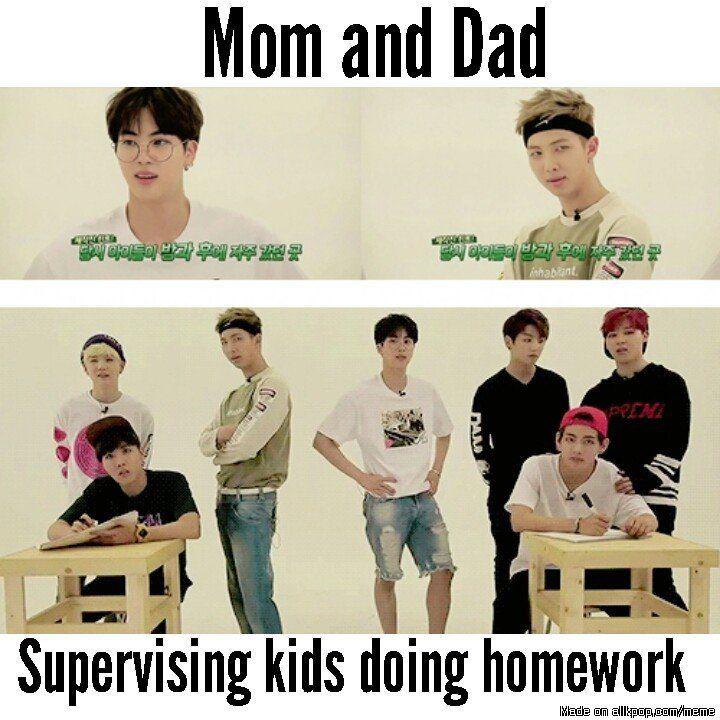 Do your homework kids lol cx Meme Center   allkpop