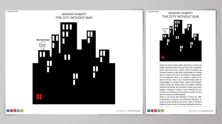 Siti web - City without Sun | Studio Ellipse - Grafica e Web Design