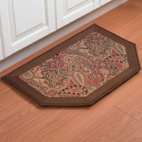 Brylanehome Memory Foam Kitchen Rug Slice by BrylaneHome. $19.99. Bring luxurious cushioning underfoot with this memory foam kitchen rug with classic patterns that match any décor.   • available in 2 patters: Leaves and Paisley • woven jacquard design • non-skid back • polyester • spot clean • imported • pair this rug with our beautiful matching table linens and our kitchen décor and accessories for a complete look   This woven kitchen rug fit...